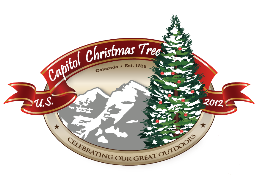 Capitol Christmas Tree Logo